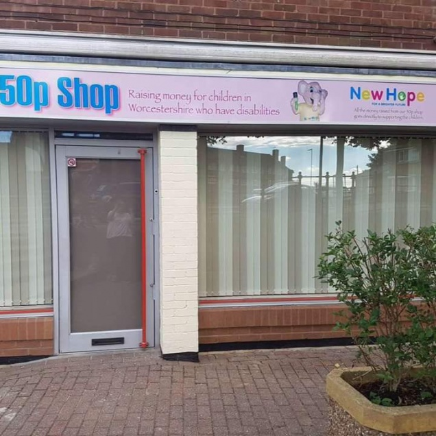 Gallery - New 50p Charity Shop in Ronkswood